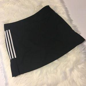 Adidas Black Climacool Tennis Skort.  Size Large